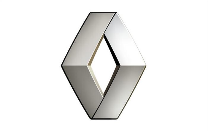雷诺logo ppt素材