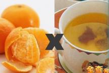 橘子皮泡水喝有什么好处