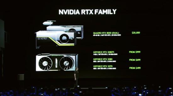 英达伟RTX 2080/2080Ti显卡多少钱?什么时候上线发售