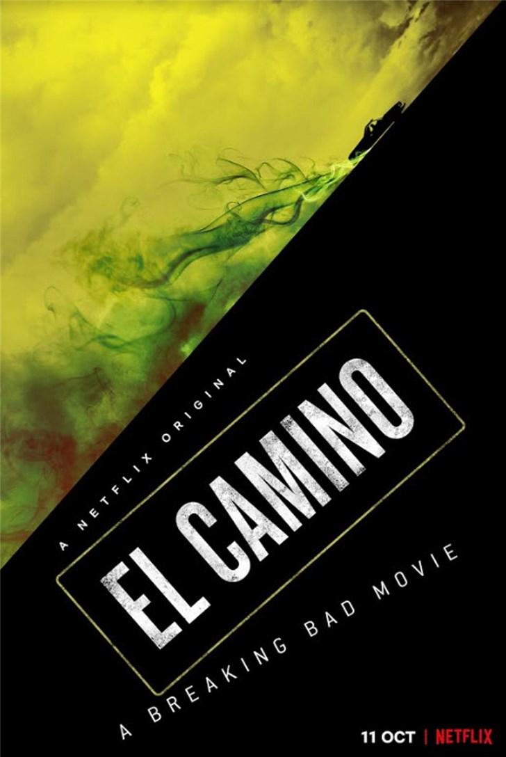《绝命毒师》电影发布首张海报,10月11日上映