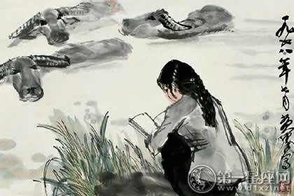 中国画艺术大师黄胄的绘画艺术及其作品