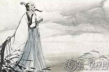 中国古代十大诗人:屈原,曹植,陶渊明,王维,李白,杜甫,白居易