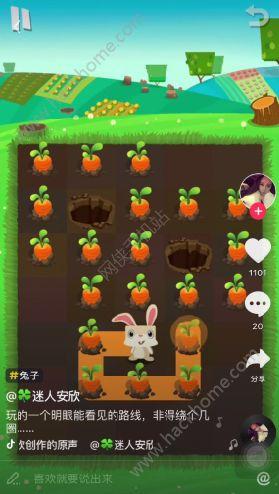 抖音上兔子吃胡萝卜的游戏是什么 抖音上兔子游戏介绍图片