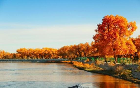 导语:不知不觉,我们已经迎来十月,随着十月的到来,很多地方已经出现了初秋的景象,所以,要想感受初秋的别致景色,可以现在出行旅游,各地的风景一定不会让你失望。天气网提供2017十月份旅游景点推荐 ,让你了解中国十月份去哪里旅游最适合。   2017十月份旅游景点推荐 中国十月份去哪里旅游   2017十月份旅游景点推荐——内蒙古额济纳    内蒙古额济纳   额济纳是世界上仅存的三大胡杨林地之一,最负盛名的是金秋胡杨的美景。每年国庆前后十天左右,便迎来当地赏胡杨的最佳时节,一眼望