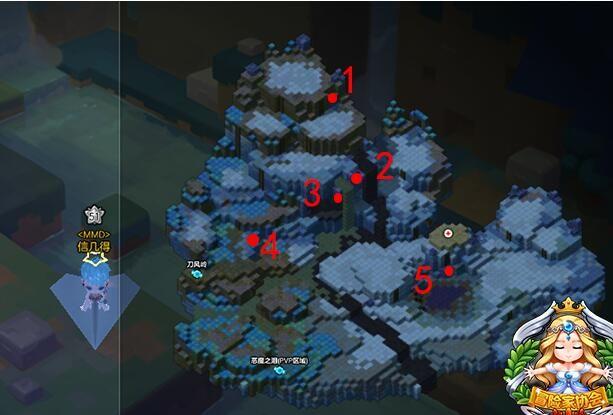 冒险岛2暴风山谷怎么去 暴风山谷宝箱位置坐标一览